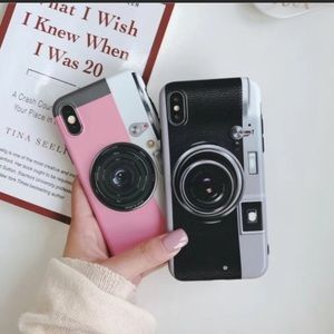 iPhone XS/7/8/+❤️️camera phone case with holderBoutique, used for sale